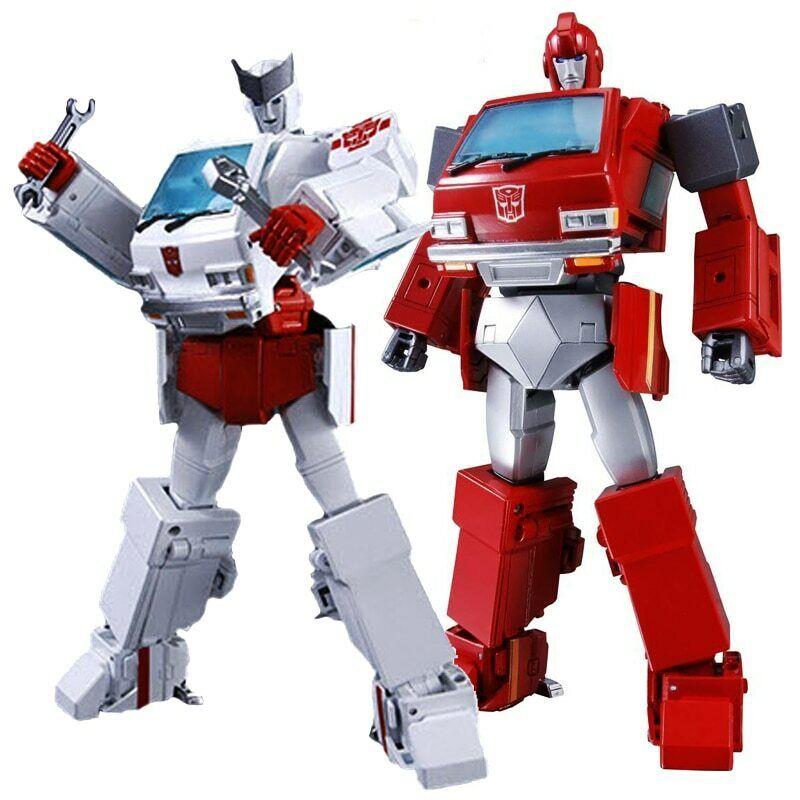 G1 TKR Transformation MP27 MP30 Ratchet KO VERSION Masterpiece Action Figure Toy