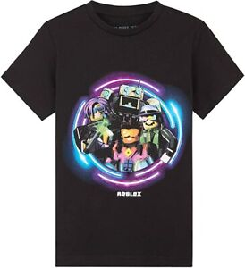 Roblox Tshirt for Boys, Black T Shirt for Kids and Teens, Gamer Gifts