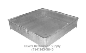 NEW Sink Compartment Basket 18 X 18 SS GSW SD1818 #3925 Stainless Steel Strainer