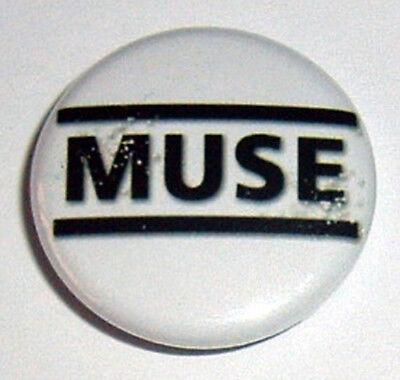 Muse Logo 25mm Pin Badge Muse 7