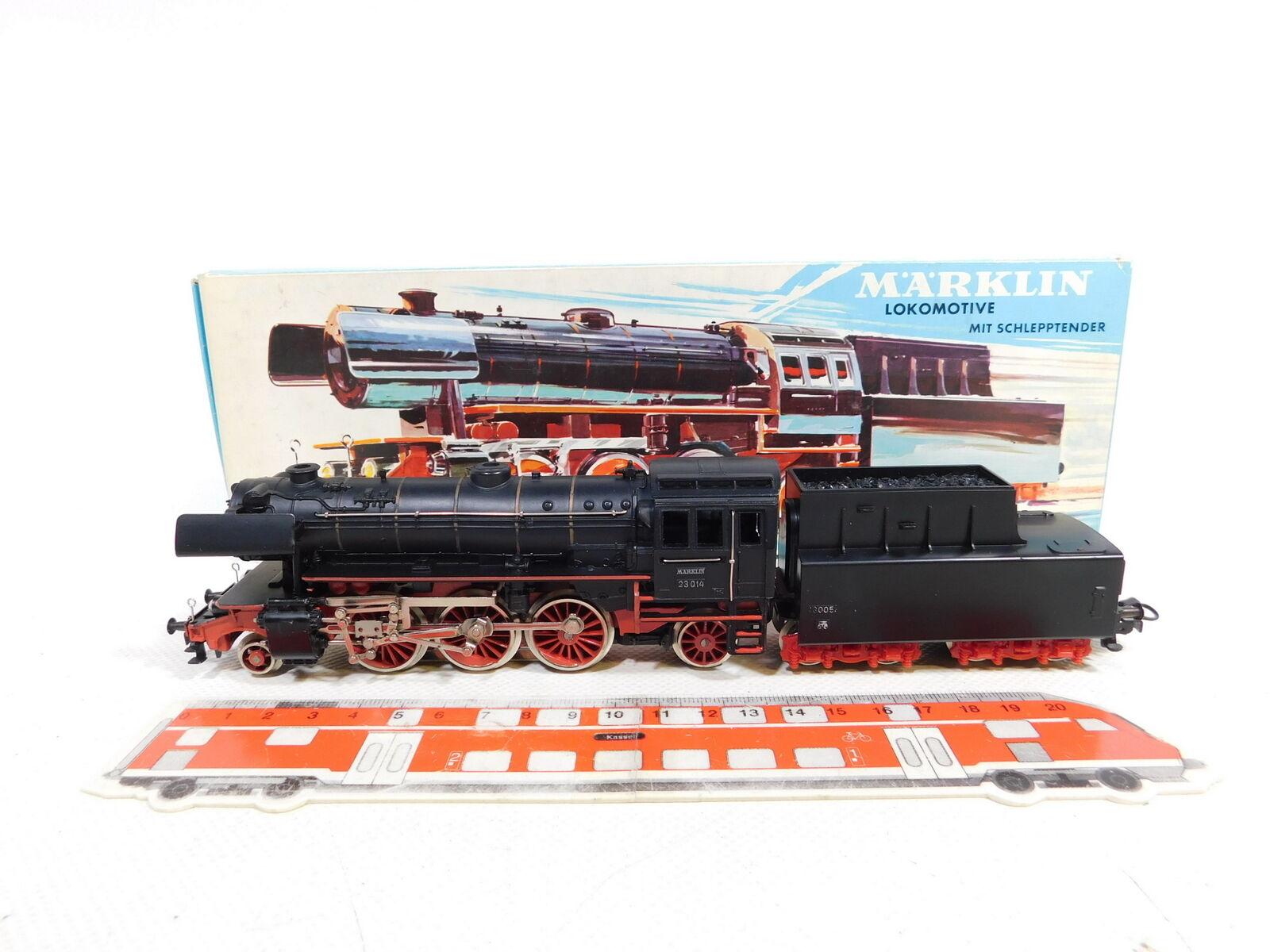 CE2861  marklin H0AC 3005 GussDampflokomotive 23 014 DB, Molto Buono  scatola