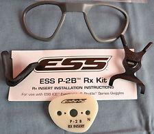 ESS P-2B Safety Glasses RX Insert (NVG/ICE/ICE Naro) 740-0309 - New