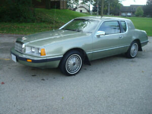 1985 Mercury Cougar *MINT CONDITION - LIKE NEW*