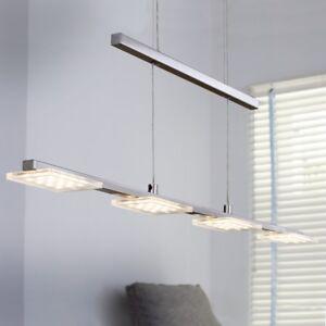 Wofi-LED-Pendelleuchte-Darwin-4-flg-Nickel-Dimmbar-Hoehenverstellbar-19-2-Watt