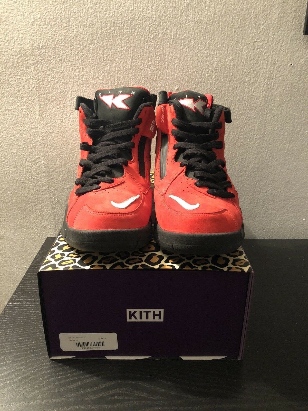 """Kith X Nike Scottie Pippen Air Maestro II High """"Red"""" size 10"""