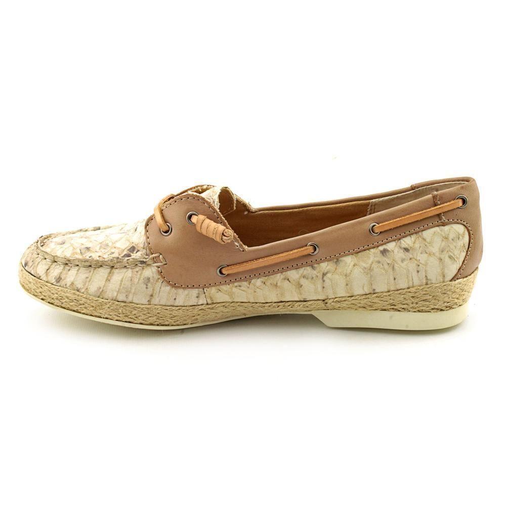 Nuevo en Caja Sam Edelman Edelman Edelman Sabastian Zapatos Náuticos Mocasines Piel de Serpiente  alto descuento