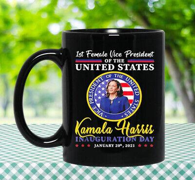 President Joe Biden 2021 and VP Harris Inauguration Day Coffee Mug