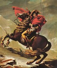 A3 Box Canvas Napoleon crossing the Alps Jacques Louis David