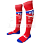 BBB Sports Puerto Rico Adult Classic OTC High Knee Socks Red//Royal One Size