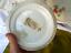 thumbnail 10 - 1800s Antique Plate Warmer Marque Depose Old Porcelain Brass Oil Kerosene Floral