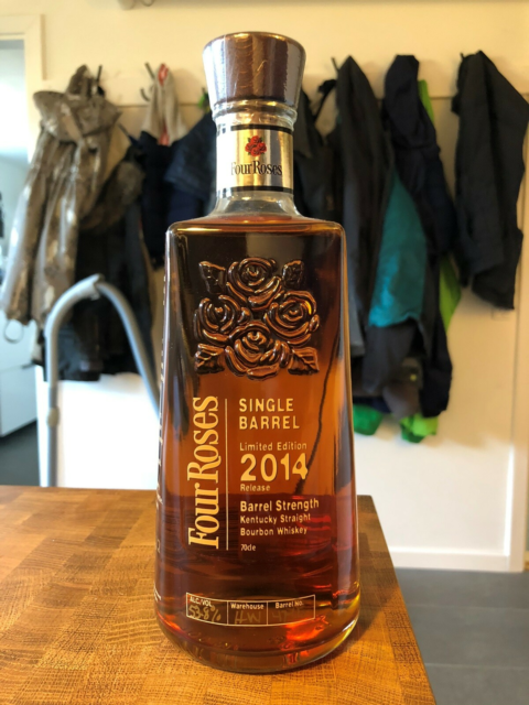 Spiritus, Bourbon whiskey, Four Roses single barrel limited…