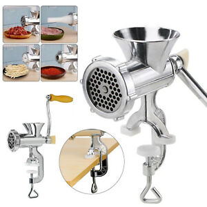 Table-Hand-Manual-Meat-Grinder-Mincer-Stuffer-Sausage-Pasta-Filler-Maker-Machine
