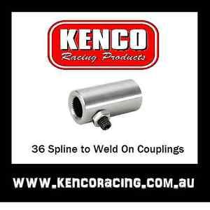 36 Spline 3/4 Weld On Steering Coupling Speedway Rally Hot Rod Drag Road Race ca