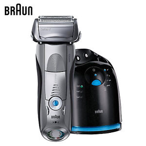 now braun series 7 799cc 7 wet dry shaver with clean. Black Bedroom Furniture Sets. Home Design Ideas