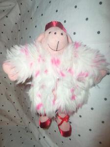 Rare-OPI-Nail-Polish-Lacquer-Advertisement-Pig-11-034-Plush-Soft-Toy-Stuffed-Animal