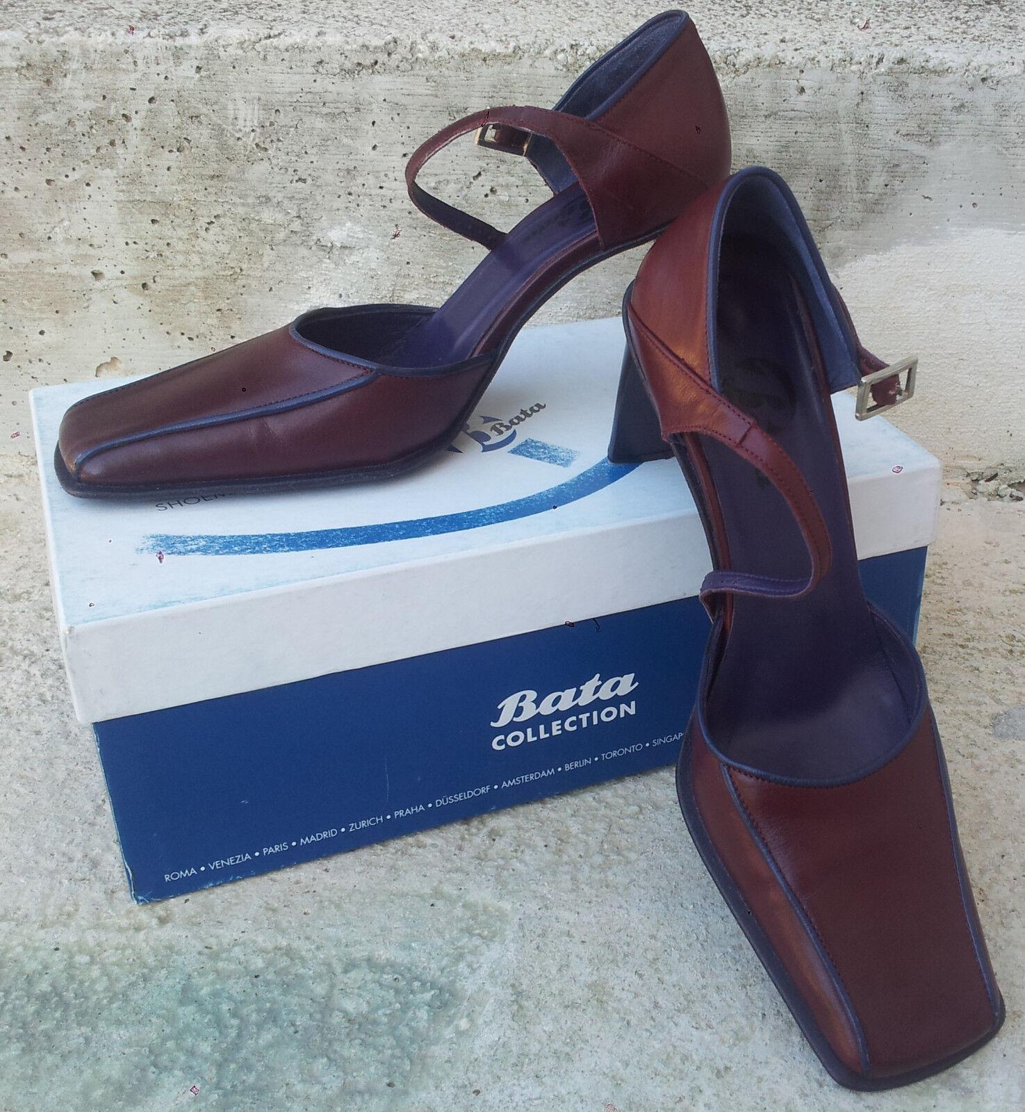 Sandali/scarpe estate donna Bata colore Rosso/Bordeaux<wbr/>. Misura 36