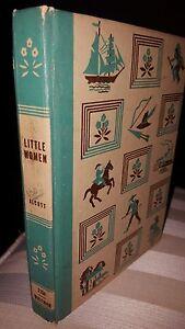 LITTLE-WOMEN-BY-LOUISA-MAY-ALCOTT-WHITMAN-1951-VINTAGE-BOOK-FREE-SHIPPING