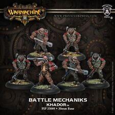 WARMACHINE Khador PIP33089 Battle Mechaniks (6) NEW Privateer Press