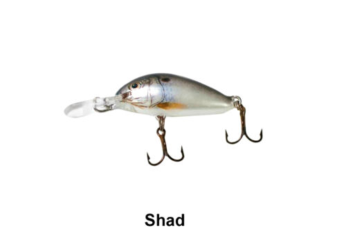 Ultra-light lure fishing SHAD Ugly Duckling Lure finesse fishing Balsa Wood