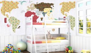 3D Kreative Welt Karten 45 Tapete Tapeten Mauer Foto Familie Tapete Wandgemälde