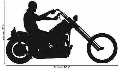 SWEN Products MOTORCYCLE FULL DRESSED Black Metal Business Card Holder