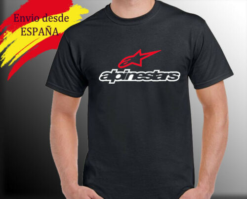 M camiseta motera alpinestar personalizada L tshirt alpinestar XL  . S