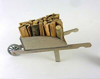 1:12 Scale Dollhouse Miniature Fireplace Log Rack with Firewood Logs #SD298