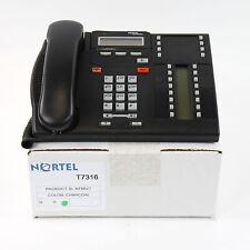 Nortel Norstar T7316 Charcoal Avaya Business Phone -Refurb Lot - 1 YEAR WARRANTY