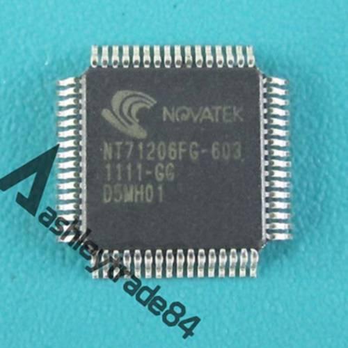 1PCS New NOVATEK Encapsulation:QFP-64 IC Chip NT71206FG-603 NT71206FG