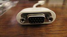 Genuine New Sealed Apple Mini DVI to VGA Adapter M9320G/A