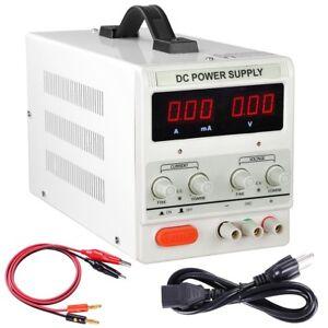 30v 10a adjustable dc power supply precision variable dual digital
