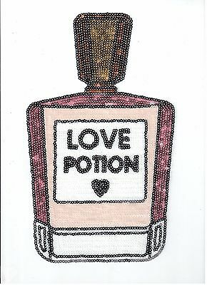 Flippable Love Potion Sequin Patch