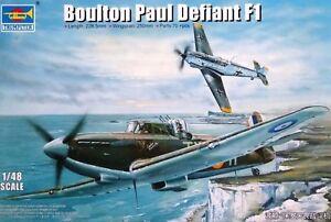 Trumpeter-1-48-Boulton-Paul-Defiant-F1-AIRCRAFT-MODEL-KIT