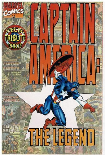 Captain America The Legend Special Tribute Issue 1996