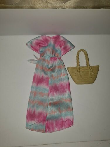 NEW BARBIE LONG BEACH DRESS /& BAG