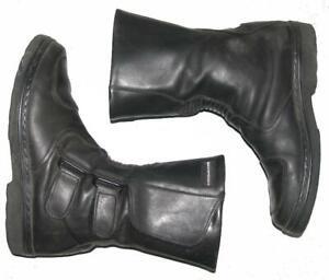 >>> Herren- Motorradstiefel / Biker- Stiefel / Boots in schwarz ca. Gr. 43