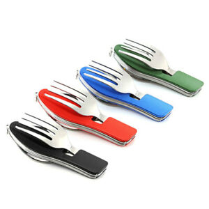 Portable-Compact-Folding-Spoon-Knife-Fork-3-in1-Utensils-Outdoor-Travel-Camping