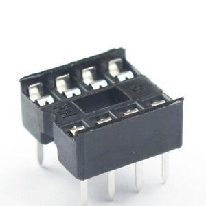 40-Pcs-8-Pin-DIP8-Integrated-Circuit-IC-Sockets-Adaptor-Solder-Type-ov