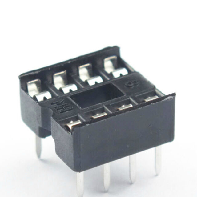20 PCS 8 Pin DIP8 Integrated Circuit IC Sockets Adapters Solder T IE