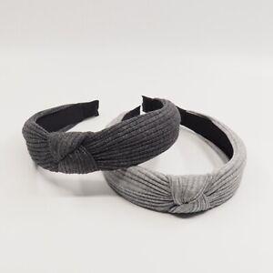 Womens-Headband-Twist-Hairband-Bow-Knot-Cross-Tie-Velvet-Headwrap-Hair-Band-Hoop