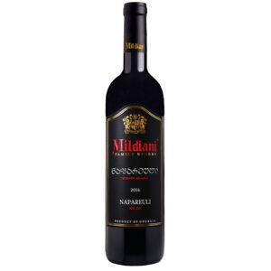 Mildiani Rotwein Napareuli 0,75L georgischer Wein trocken Saperavi