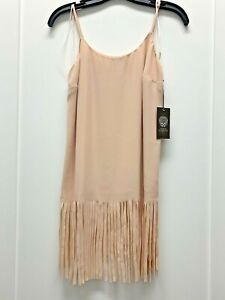 Vince-Camuto-Women-s-Tank-Top-Blouse-Cami-with-Fringe-NWT-XS