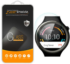 2X Supershieldz Tempered Glass Screen Protector For Motorola Moto 360 Sport