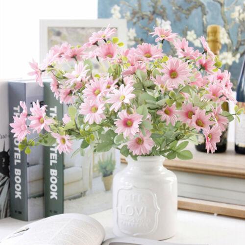 7-Forks Artificial Silk Garden Wedding Bouquet Home Daisy Flower Flowers Decor