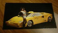 1989 Lamborghini Countach Photo Magnet Toolboxfridge Picture 89 Taxi Nice Fits Lamborghini Jalpa