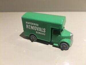 Lesney-Matchbox-No-17-Bedford-Matchbox-Removals-Van-1950-s-Nr-Mint-Excellent