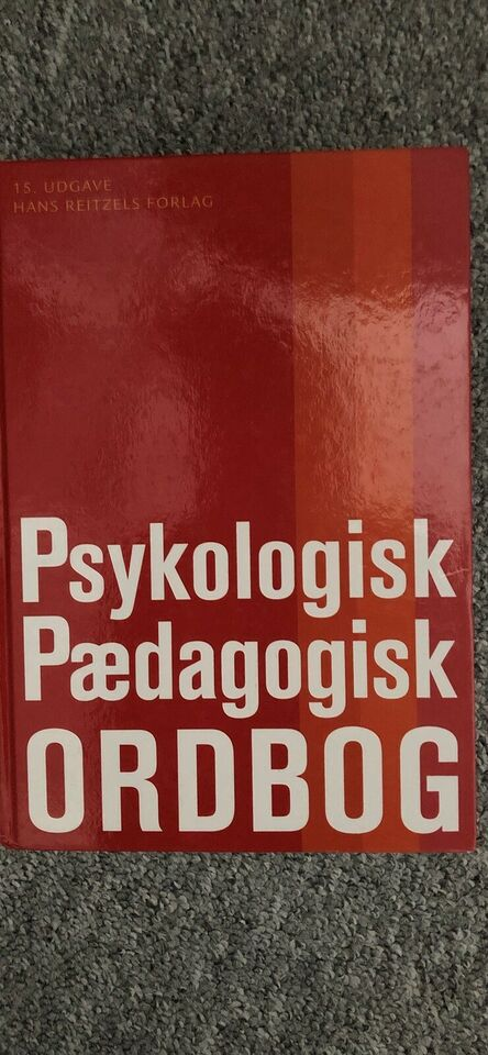 Psykologisk, pædagogisk ordbog, Mogens Hansen
