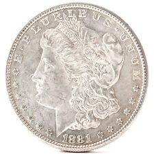 1881 O Morgan Silver One Dollar New Orleans Silber Münze USA Amerika coin
