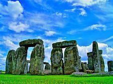 Historia Cultural Paisaje Stonehenge Antiguo Cartel impresión de arte imagen bb665a