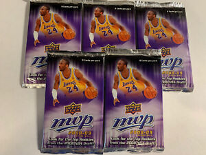 Lot-Of-5-Unopened-2008-09-Upper-Deck-MVP-Retail-Basketball-Packs-Possible-Rookie